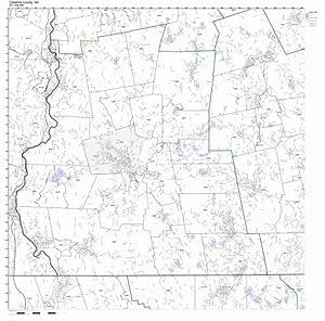 Amazon Cheshire County New Hampshire NH ZIP Code Map