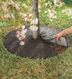 "Perm-A-Mulch Recycled Rubber 36"" Tree Ring"