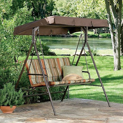 Replacement Canopy For Backyard Swing : JCP 2Person Swing Replacement Canopy  Gazebos  Patio and Furniture