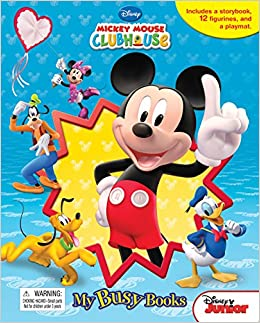 Mickey Mouse Clubhouse Mouseka Fun My Busy Books Phidal