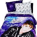 Justin Bieber Concert Purple Twin-Single Bedding Set