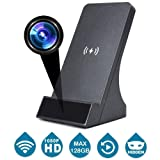 LIZVIE HD Spy Camera WiFi Wireless Mini Hidden Cam Charger with Remote Viewing Night Vision, House Security Cameras Video with Motion Detection, Support iOS Android Apple Phone (Color: Fast Charger, Tamaño: Q200-lII)