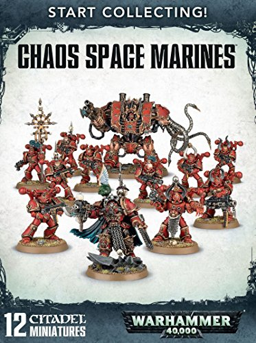 Start Collecting! Chaos Space Marines Warhammer 40,000 (Chaos Space compare prices)