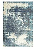 nuLOOM 200OWTC01A-53078 Traditional Vintage Fancy Grey Rug (5-Feet 3 X 7-Feet 8)