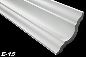 50 Meter Deckenprofile Dekorleisten Eckleisten Stuck hart 80x80mm, E15  BaumarktKundenbewertung und weitere Informationen