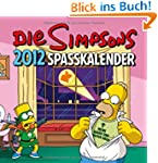 Simpsons Wandkalender 2012: Spa�kalen...