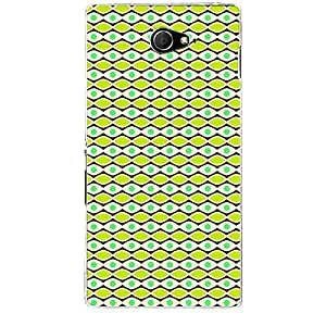 Skin4Gadgets ABSTRACT PATTERN 36 Phone Skin STICKER for SONY XPERIA M2 (S50H)