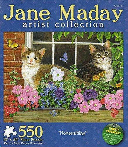 Housesitting 550 Piece Puzzle