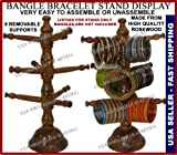 Bangle Bracelet Watch Holder Stand Rack Made from Indian Rosewood Hand Crafted