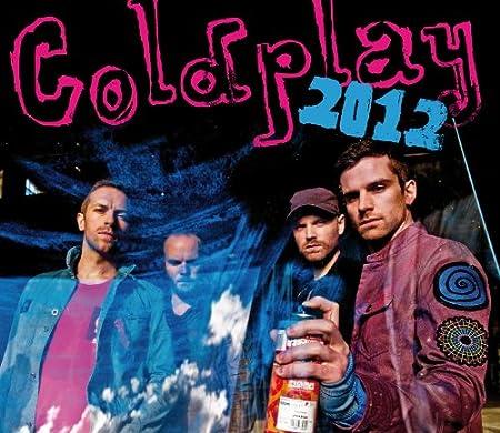 Coldplay 2012 Calendar