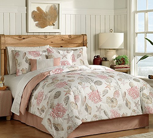 comforter set ideas design seashell king remodeling home