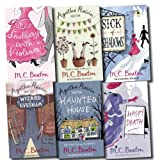 M C Beaton Agatha Raisin Collection M C Beaton 6 Books Set Pack (Hasty Death, Snobbery with violence, Agatha Raisin and the Wizard Evesham, Agatha Raisin and the Potted Garden, Sick of Shadows, Agatha Raisin and the Haunted House)