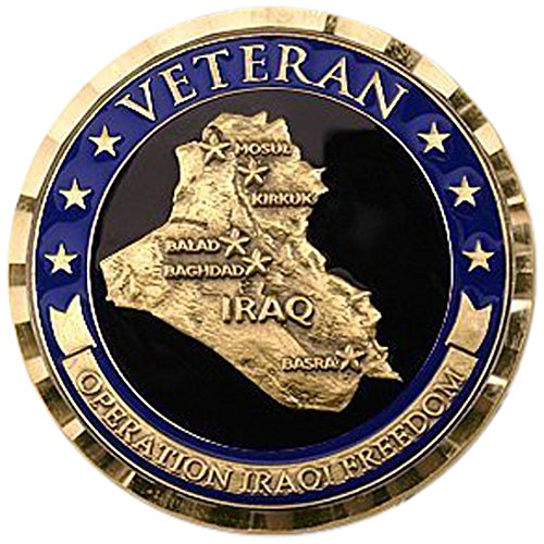 Operation Iraqi Freedom - Veteran Challenge Coin