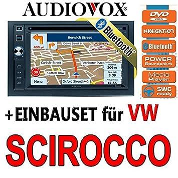 VW Scirocco 3-Audiovox VXE 6020NAV-Autoradio Navigation Kit de montage encastré UE Navi DVD TFT Bluetooth -