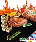 iPerfect Kitchen Envy BBQ Grill Mat -...