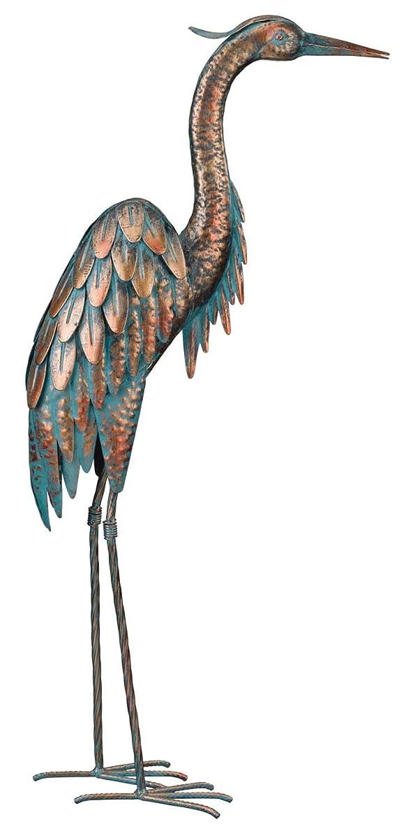 """Regal Art & Gift Patina Heron, 27"""""""