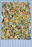 The Simpsons Cast 2012 The Simpsons Poster 61x91.5cm