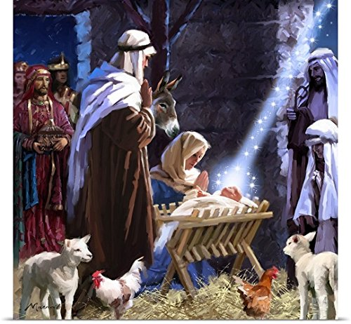 The Macneil Studio Poster Print entitled Nativity