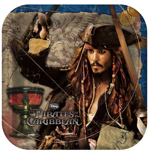 Pirates of the Caribbean 4 - Shaped Dinner Plates - 1
