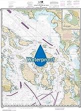 NOAA Chart 18421 Strait of Juan de Fuca to Strait of Georgia Drayton Harbor 349 X 473 WATERPROOF