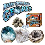 Break Open Real Geodes -Set of 6 with...