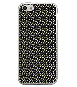 ifasho Animated Pattern colourful littel stars Back Case Cover for Apple Iphone 4