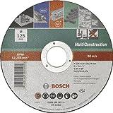 Bosch DIY Trennscheibe MultiConstruction verschiedene Materialien für Winkelschleifer (Ø 125 mm, gerade)