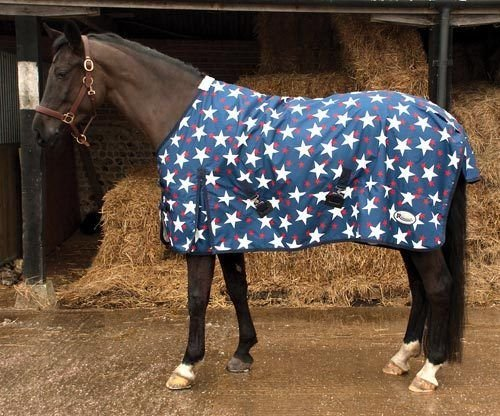 **SALE *New Miniature Shetland Pony Foal  LIGHTWEIGHT TURNOUT RUG Black// Red 4/'0
