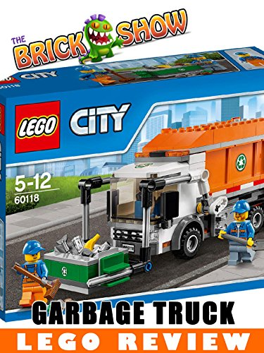 LEGO City Garbage Truck Review (60118)