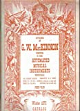 img - for Offerings By G. W. Mackinnon Purveyor of Fine Automated Musical Instruments Fall 1972 Catalog book / textbook / text book