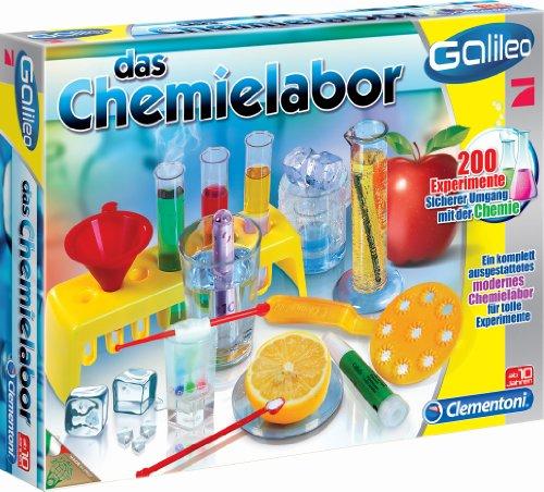 """Clementoni 69272.9 - Laboratorio di chimica """"Galileo"""" [lingua tedesca]"""