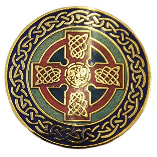 celtic-dawn-brosche-mit-keltischem-kreuz-und-blauem-rand-im-keltischen-design