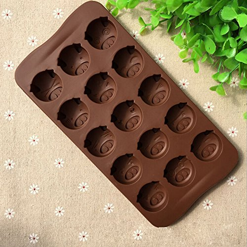 42 Best Dck Chocolate Molds Images On Pinterest: Poproo Animal Shaped Candy Mold 3-Piece Chocolate Molds