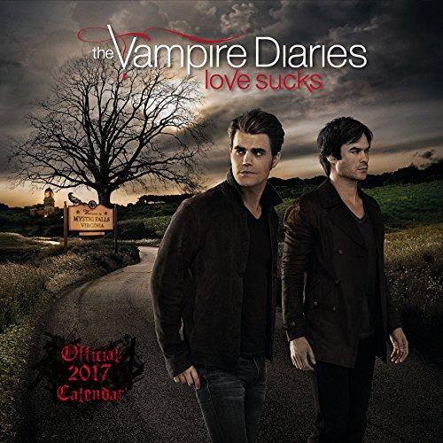 Vampire Diaries Official 2017 Square Wall Calendar