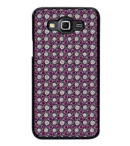 Fuson Premium 2D Back Case Cover Circle pattern With Pink Background Degined For Samsung Galaxy Grand 3 G720::Samsung Galaxy Grand Max G720