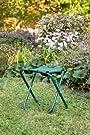 Garden Stool with 4 Piece Tool Set