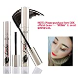 DDK 4D Mascara Cream,Makeup LashCold Waterproof Mascara,Eye Black,Eyelash Extension,crazy-long Style,Warm Water Washable Mascara (Color: Style 1)