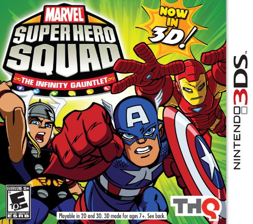 Marvel Super Hero Squad The Infinity of the Gauntlet 3D - Nintendo 3DS (Super Hero Squad Video Game compare prices)