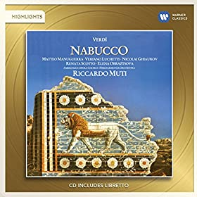 Nabucco (Highlights), Part III: Va Pensiero, Sull`ali Dorate (Chorus Of Hebrew Slaves)