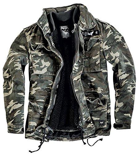 Black Premium by EMP Field Jacket Giacca mimetico 5XL