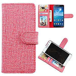 For Sony Xperia P - DooDa Quality PU Leather Flip Wallet Case Cover With Magnetic Closure, Card & Cash Pockets