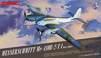 410B-2/U4 heavy fighter Men model MENDS-005 1/48 Messerschmitt Me (japan import)