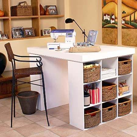 craft storage sewing tables