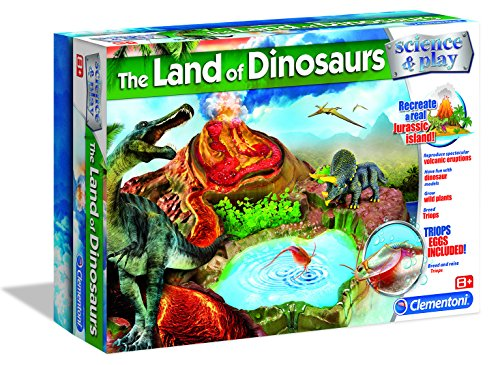 Clementoni The Land of Dinosaurs Science and Play Kit