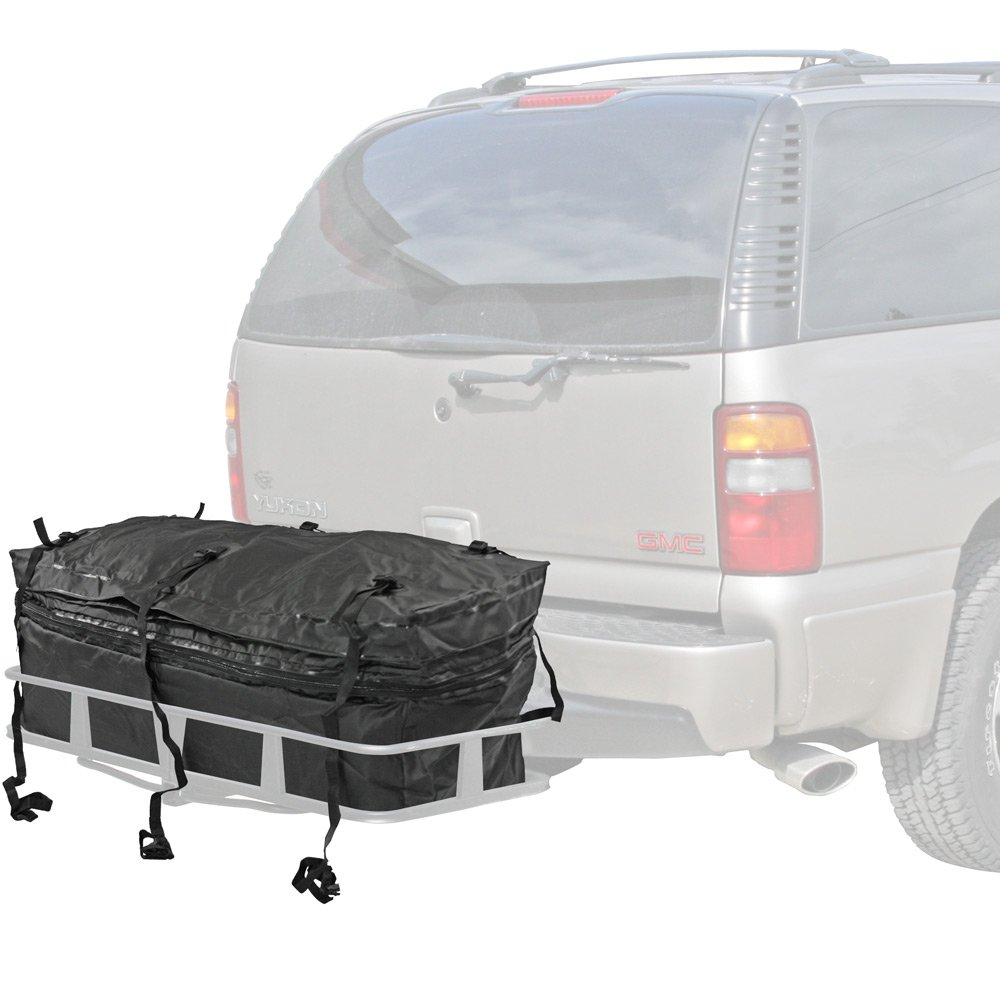 hitch cargo carrier with cargo bag