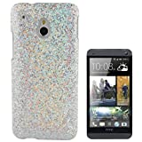 Rocina Glitzer HardCase for HTC One Mini (M4) Silver