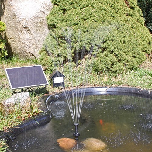 nkasp2 pompa a energia solare per fontane batteria e