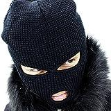 (アンミツザッカ) an meets zakka 目だし帽 目出し帽 ニット マスク 黒 ブラック