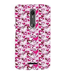 EPICCASE Mad hearts Mobile Back Case Cover For Moto X 3rd Gen (Designer Case)