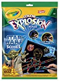 Crayola Star Wars Color Explosion scenes to have fun with surprising colors that appear